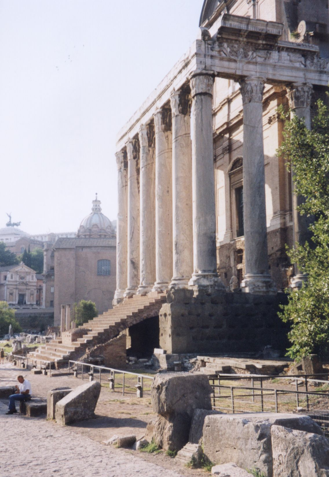 Roman Architecture Exteriors Roma Rome Pillar Pillars Column Columns