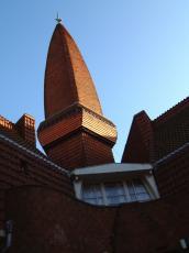 architecture exteriors berlage maartent destijl amsterdamseschool amsterdam building school rooftop window