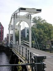 bridge amsterdam drawbridge canal