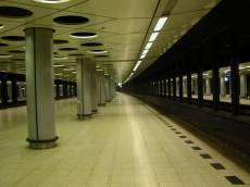 railway metro station platform modern underground