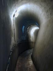tunnel arch corner bent architecture interiors fortress bunker pampus wiring electricity