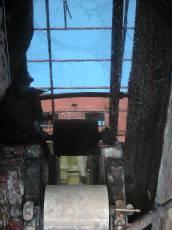 architecture exteriors urban oilspill water reflection mechanics factory papermill abandoned
