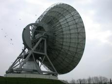 saucer disk telescope receiver