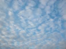 thin white cloud clouds cirro cumulus cirro-cumulus