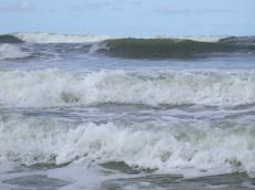 waves sea ocean white caps foam