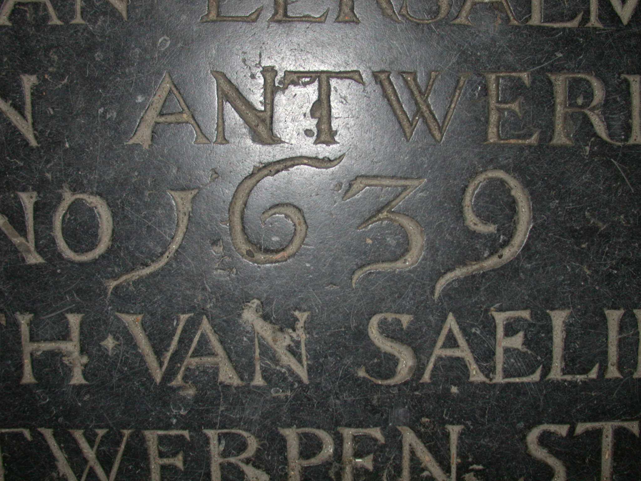 Marble In Antwerpen : Image*after : photos : inscription stone marble tombstone 1639 antwerpen