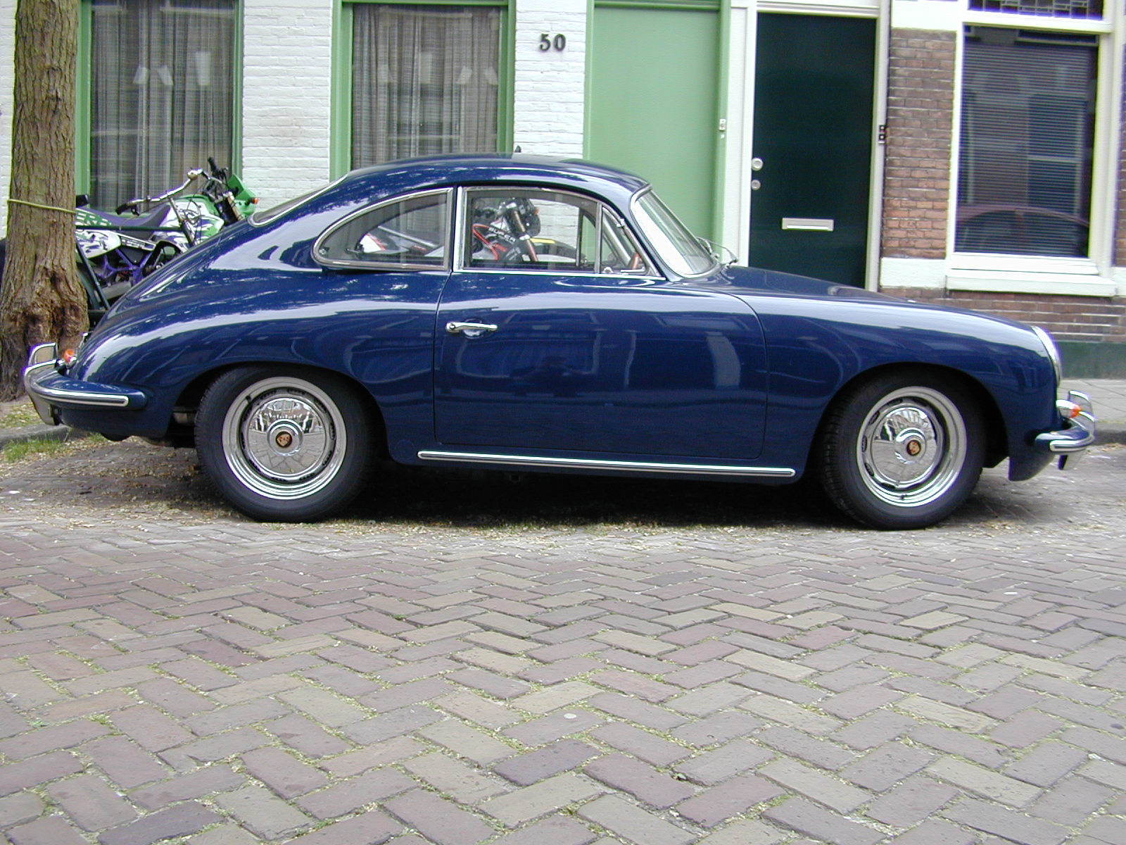 Image After Images Vehicles Land Porsche Oldtimer Side Blue