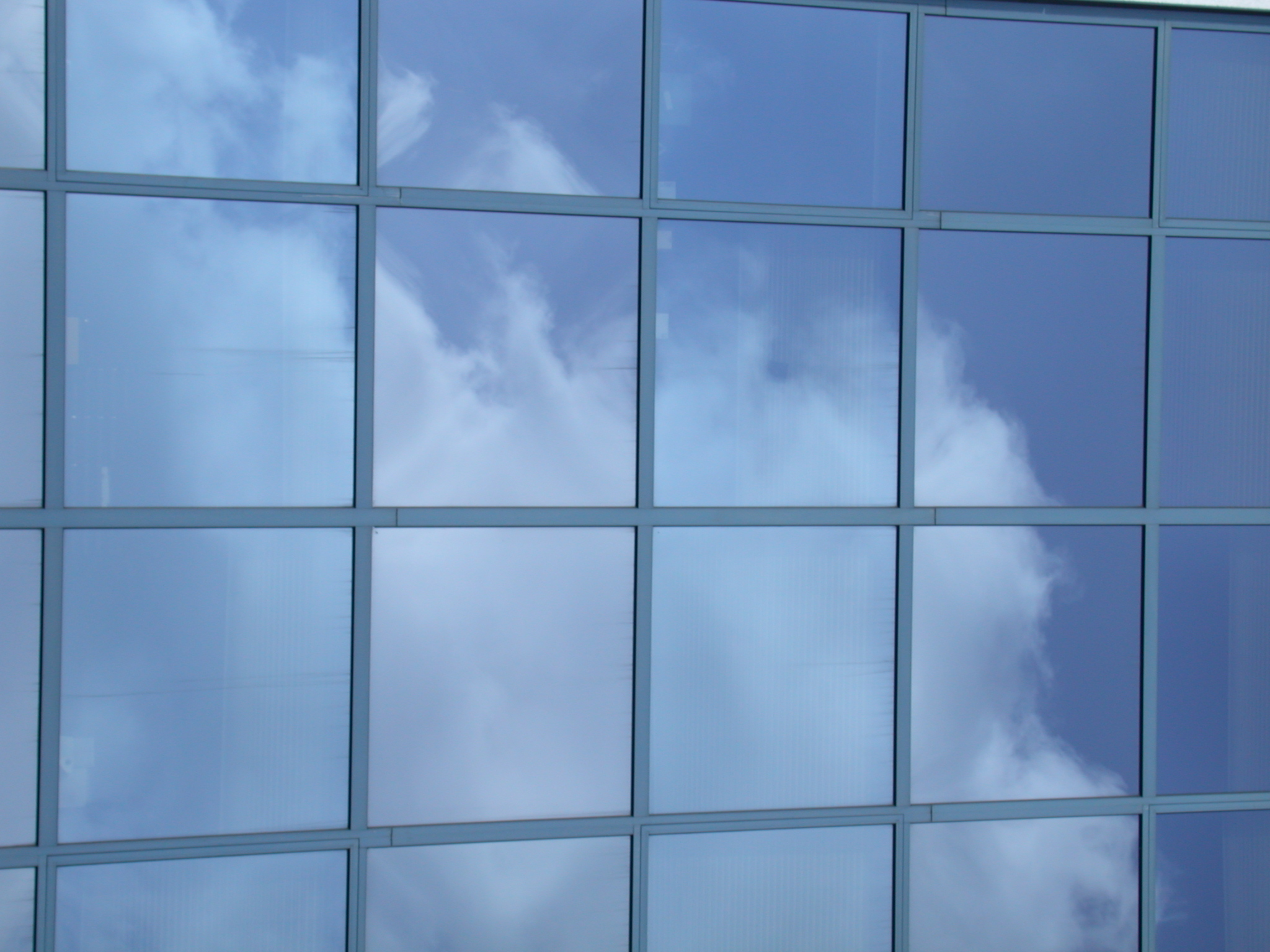 Building Glass Window : Image after photos glass windows building clouds sky