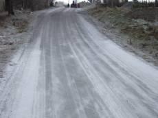tabus road dusty sand straight