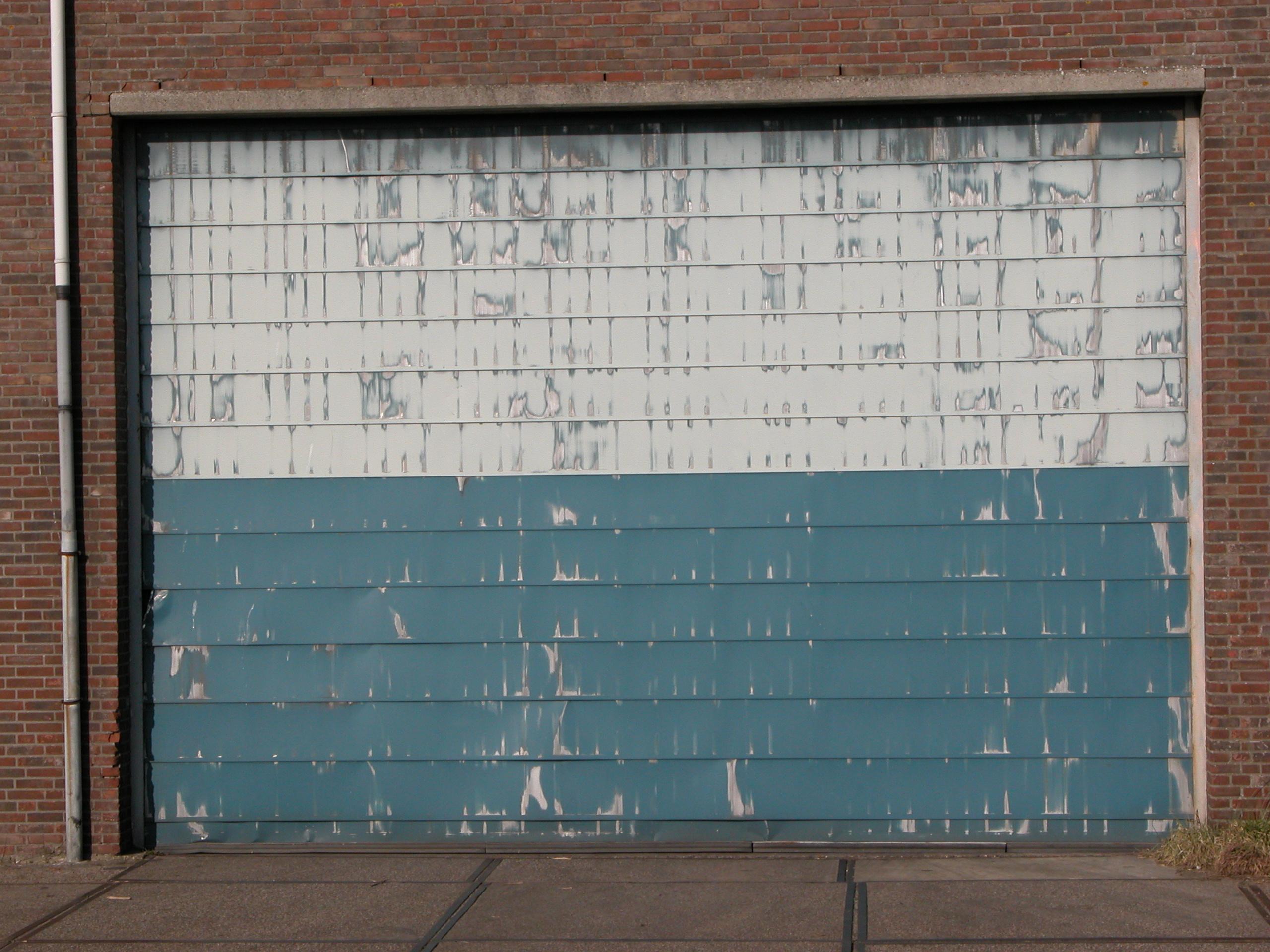 Steel Garage Door Texture painting garage door metal - wageuzi