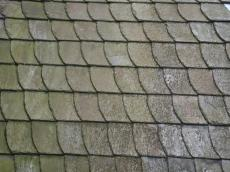 roof texture pattern slated slates weathered green