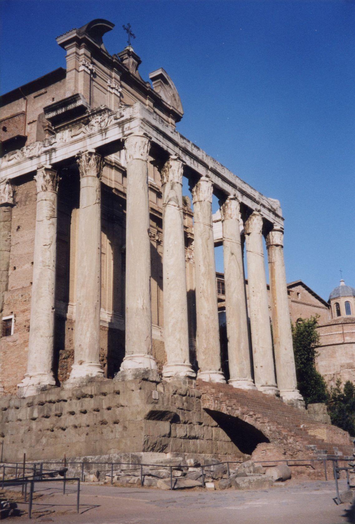 greek columns corinthian old ruin stone ruins monument relic greece greecian image