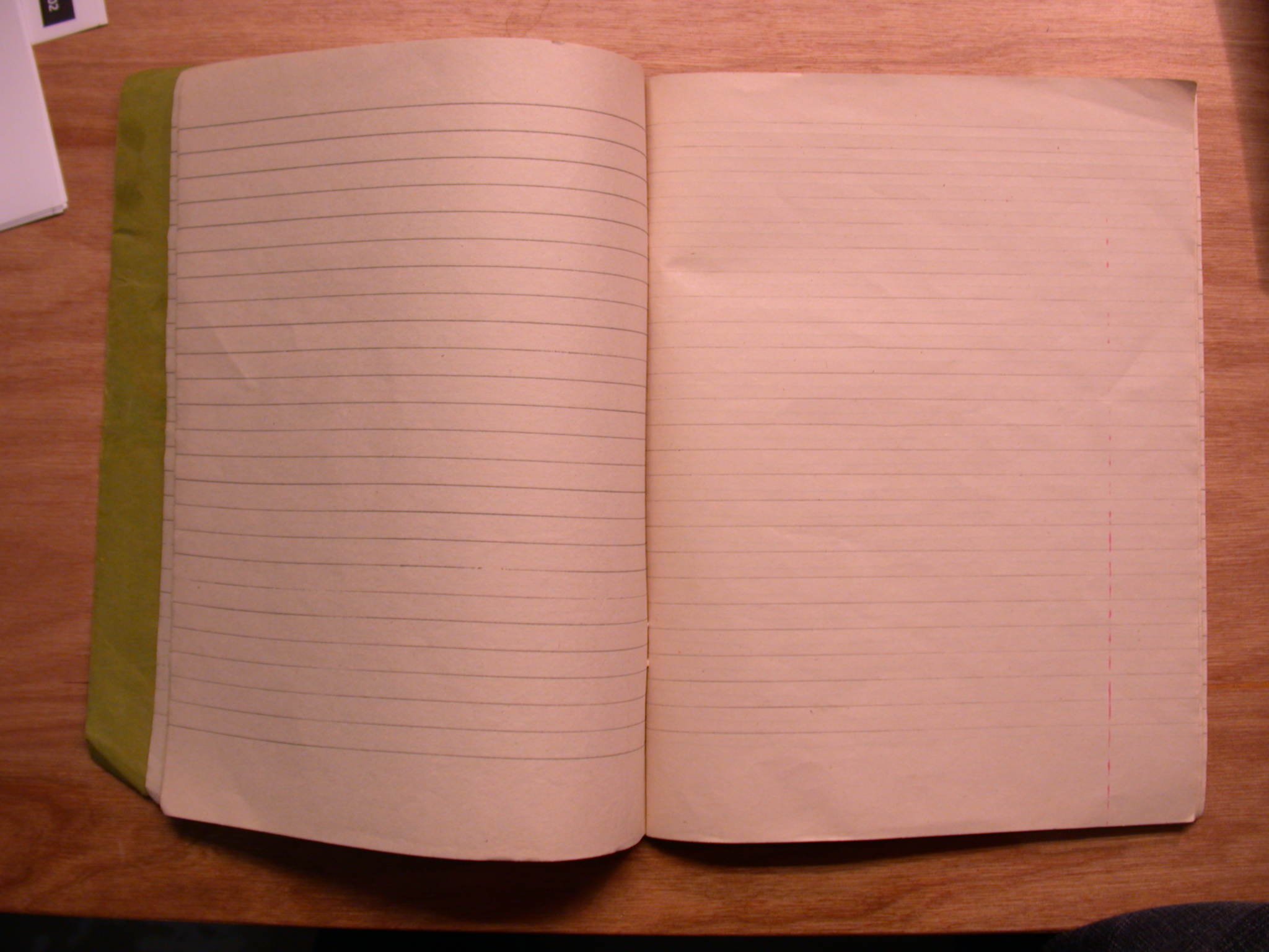 book cahier notebook exercise-book lines blank page pages paper royalty free