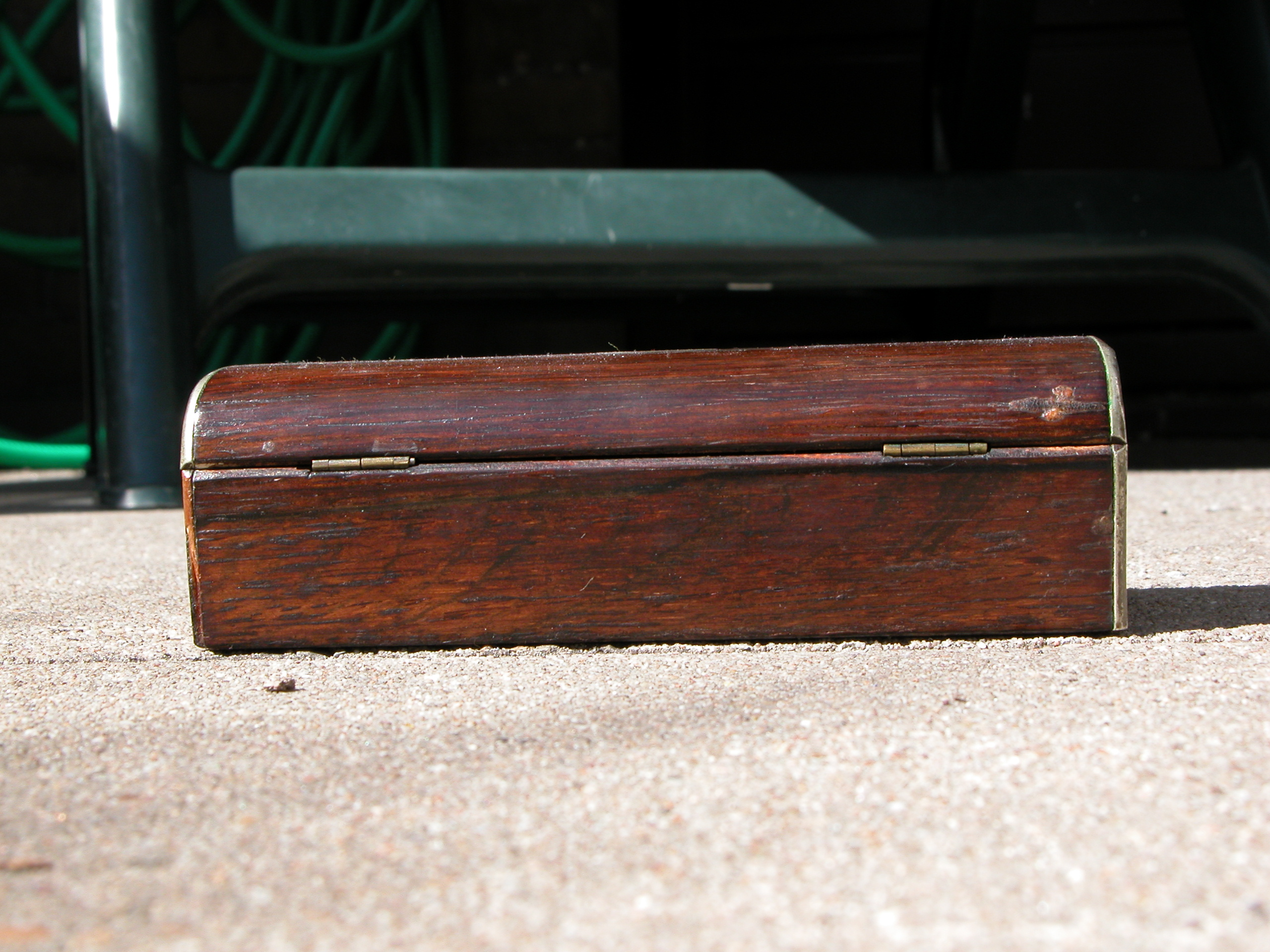 box wooden small chest treasure hinges for spoons