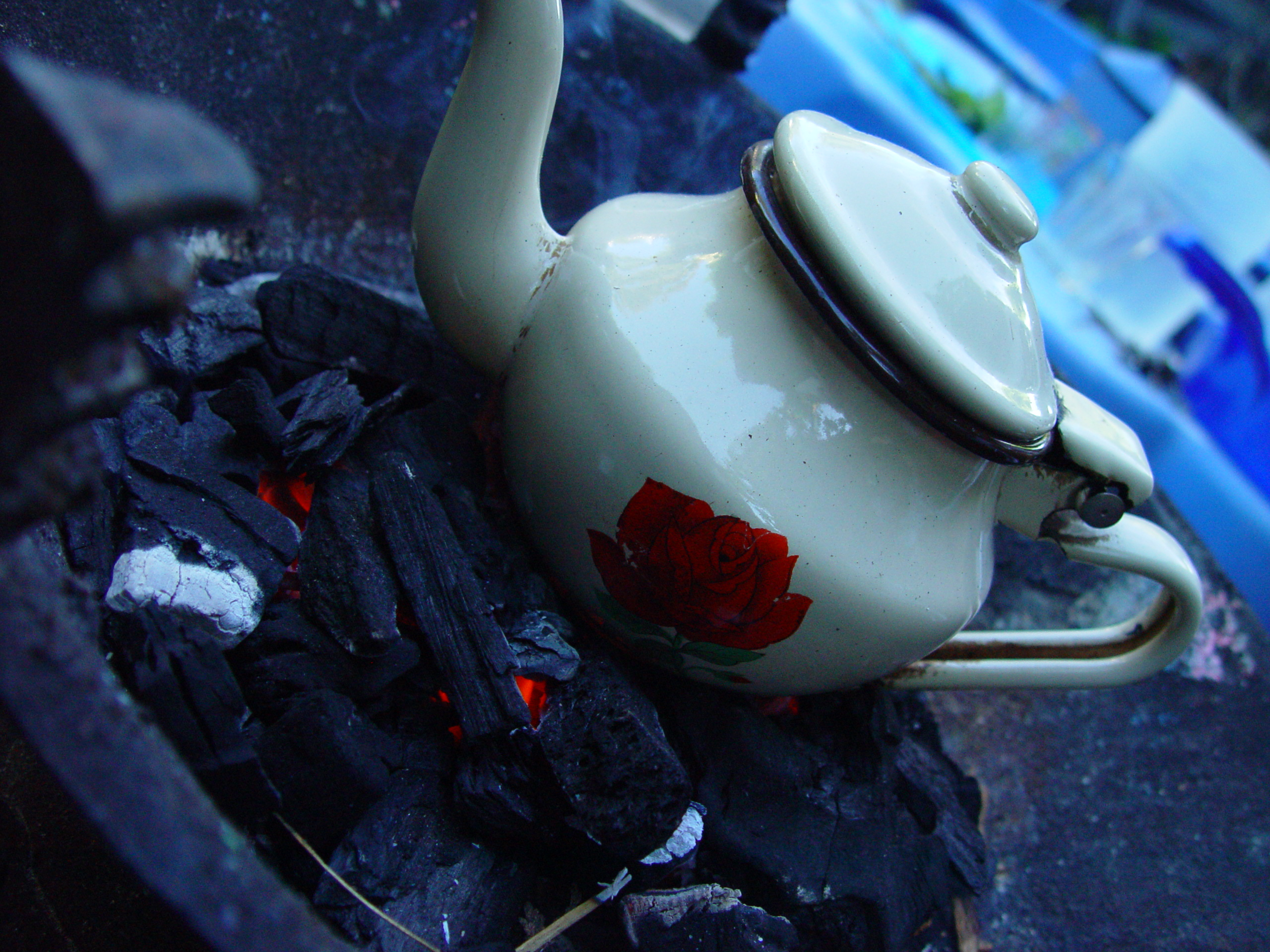 african tea teapot time coal fire bertolt zalm