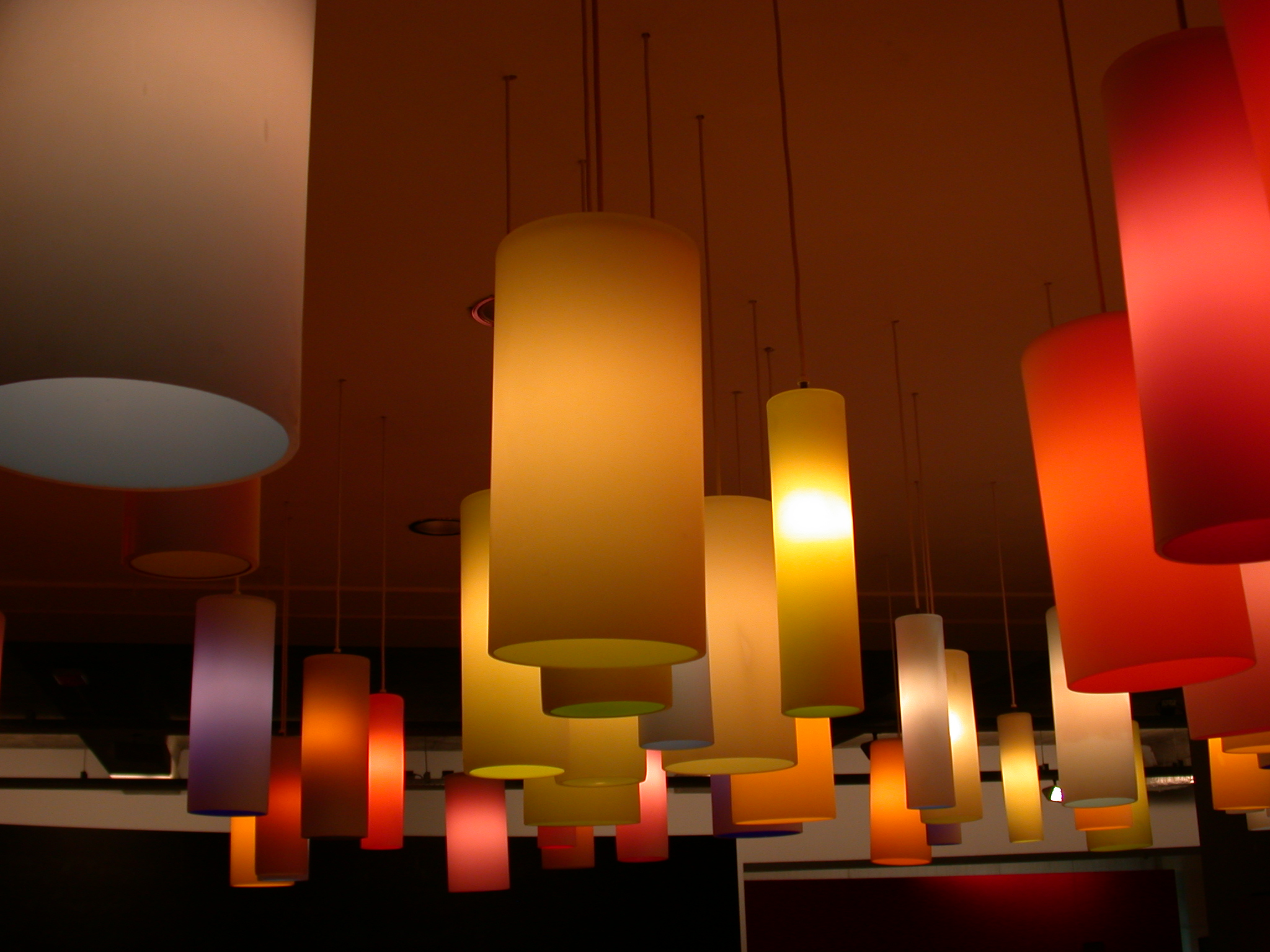 architecture interiors objects light lightfx lamp lamps lights cilinder cilinders plastic