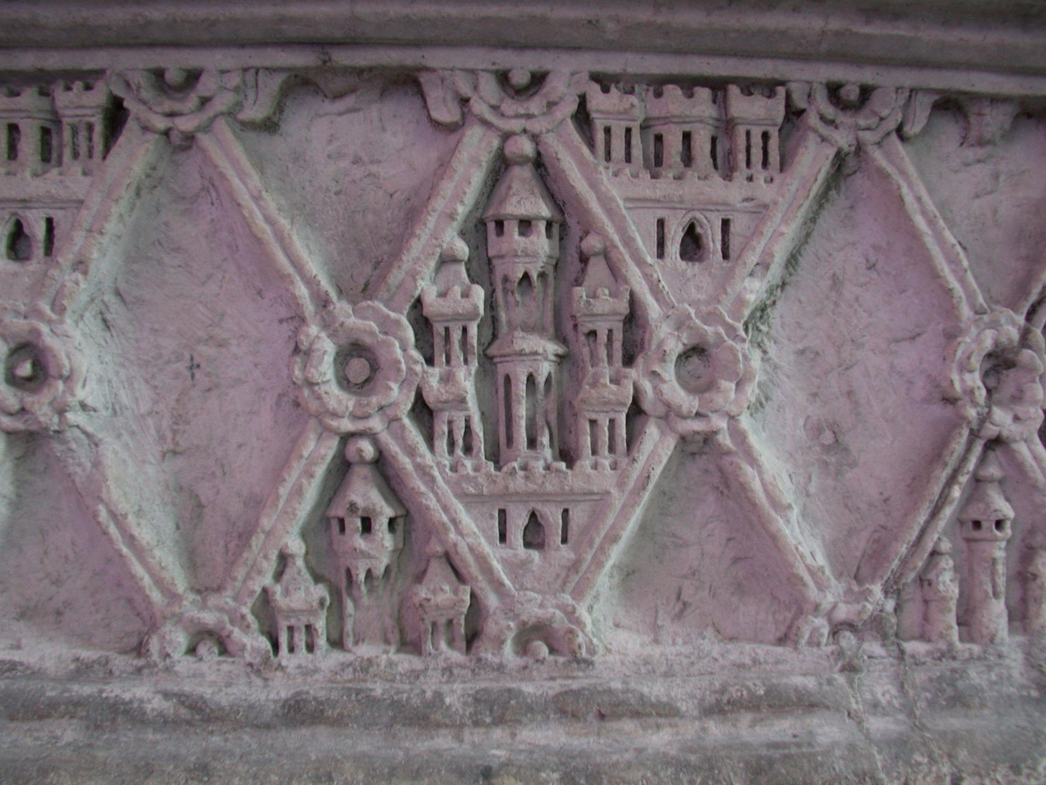 art sculptures graveridge diamonds stone texture gothic tower flower ornaments ornamented castle towers pattern
