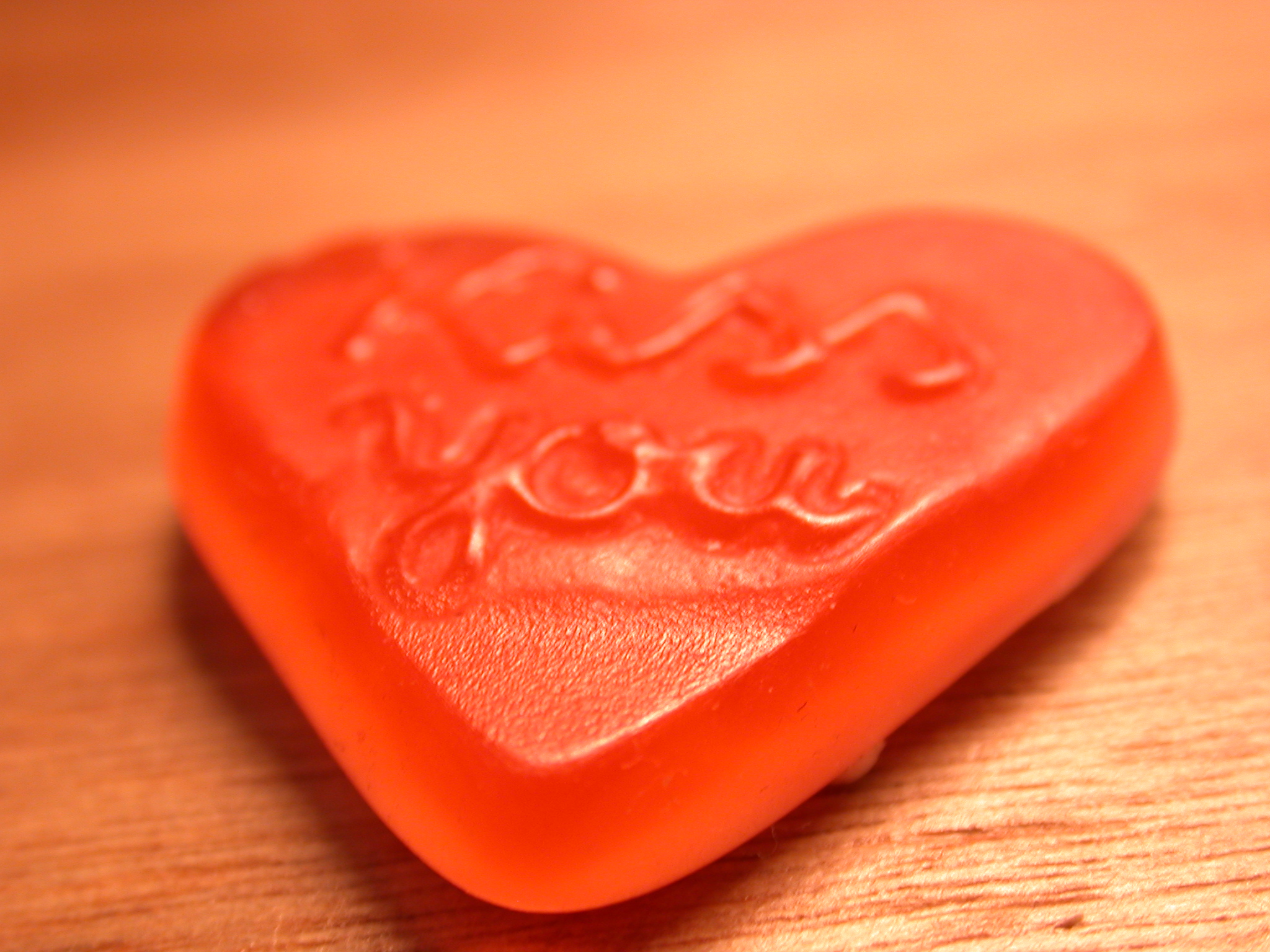 nature food love sweet script you red heart gummy gummi