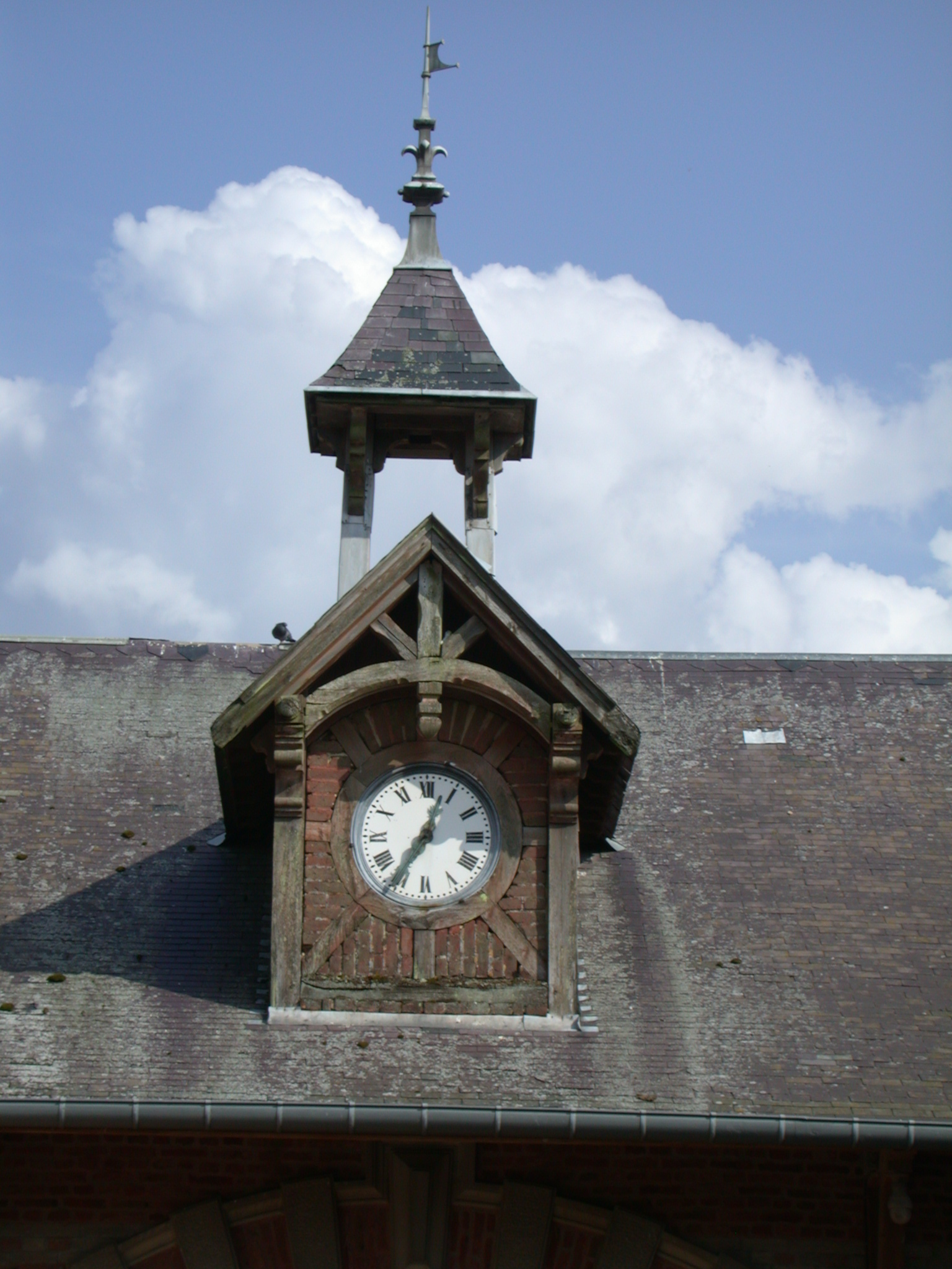 roof window tower clock objects roofs architecture exteriors wood woodwork time
