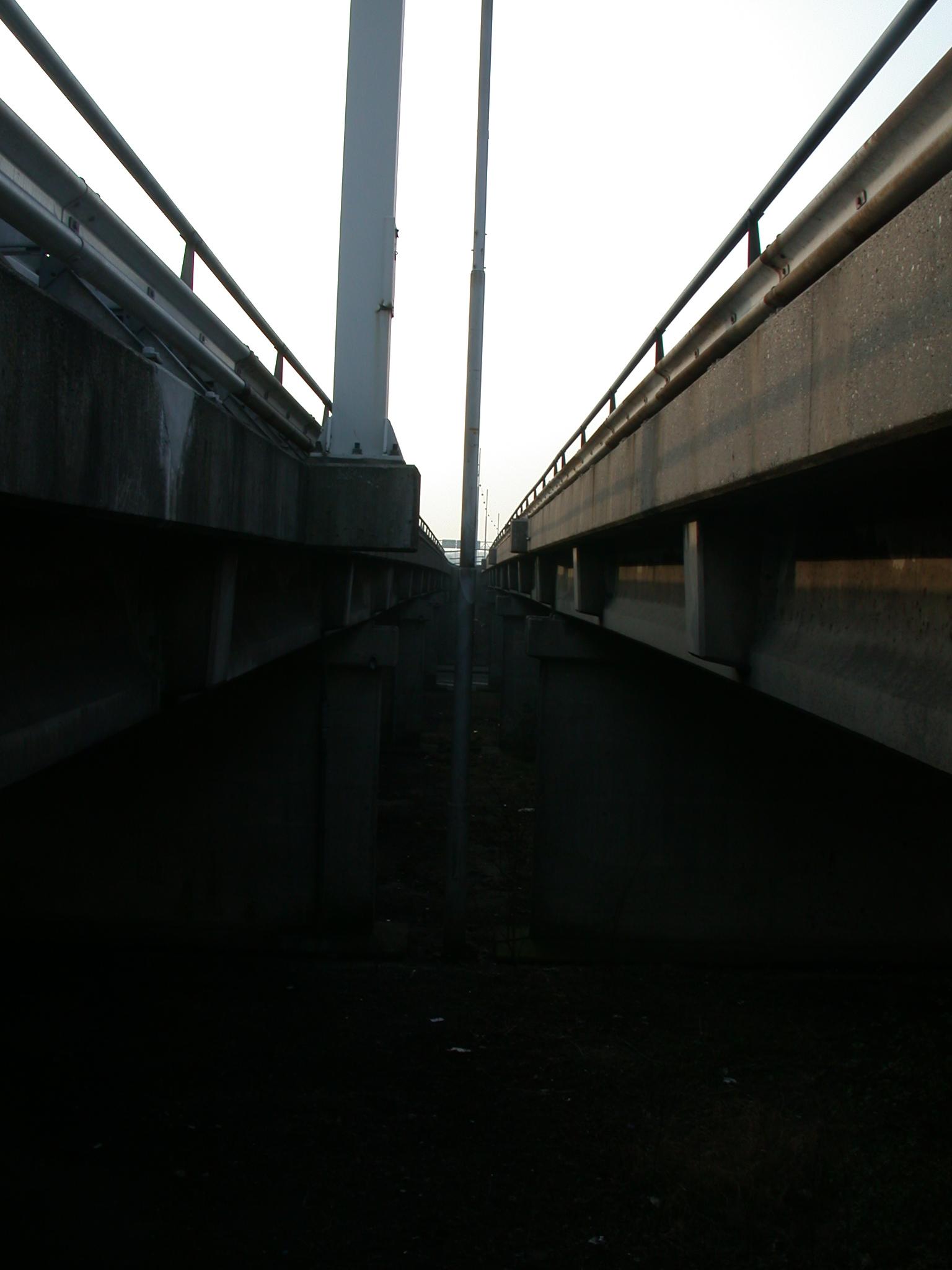 architecture exteriors bridge bridges traffic