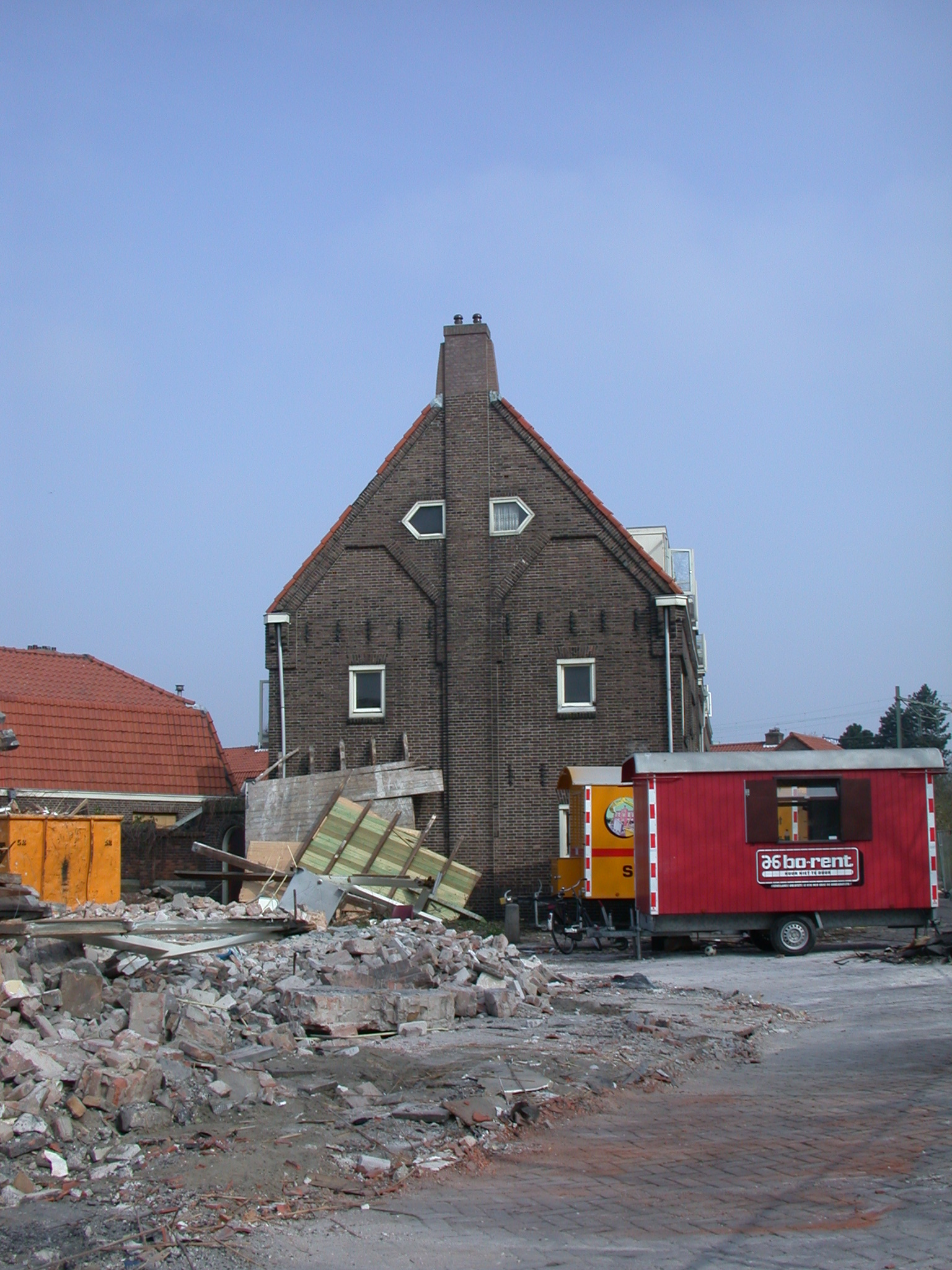architecture exteriors cityscape house houses neighbourhood demolition
