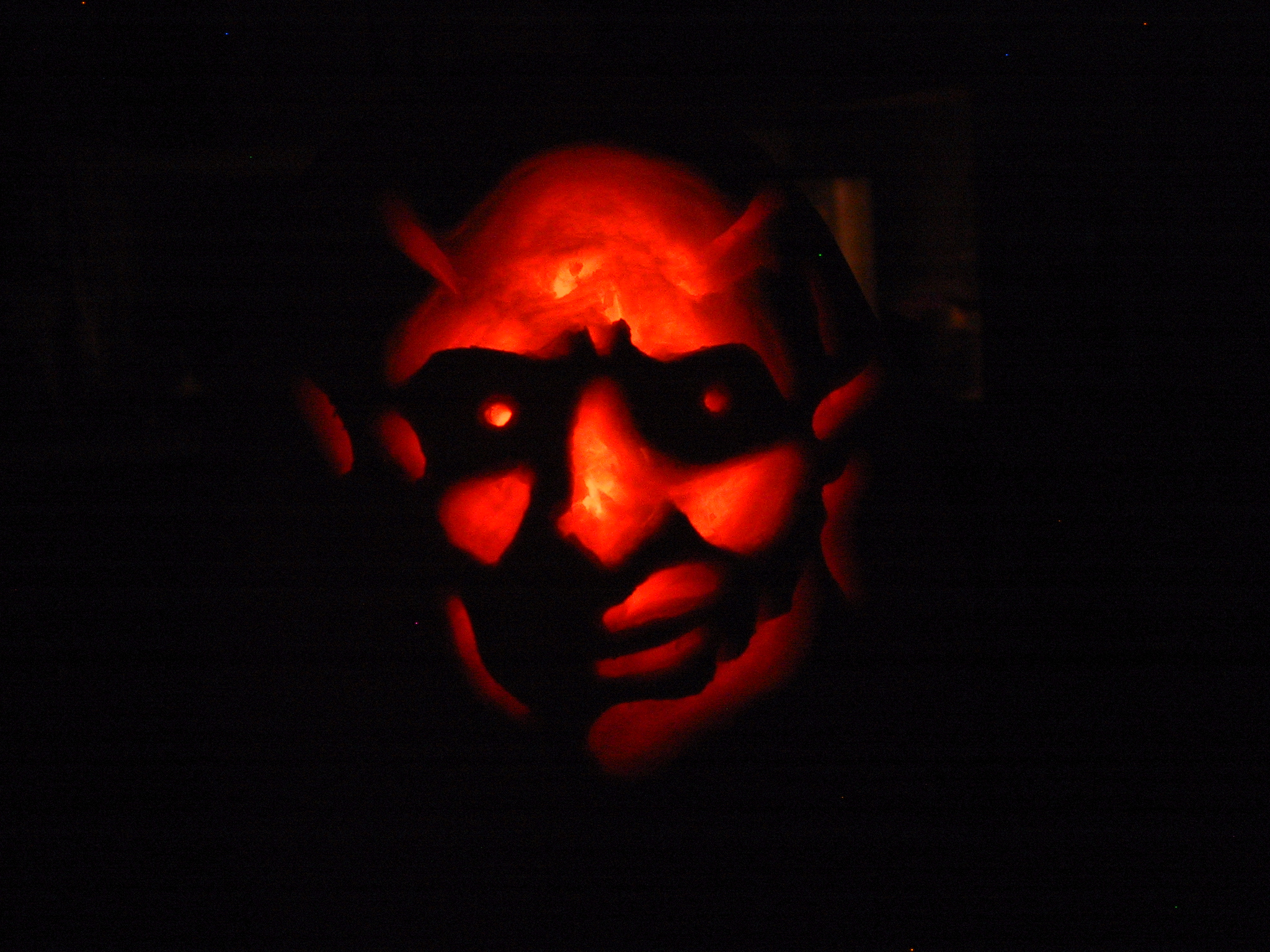 barb painting devil red dark evil