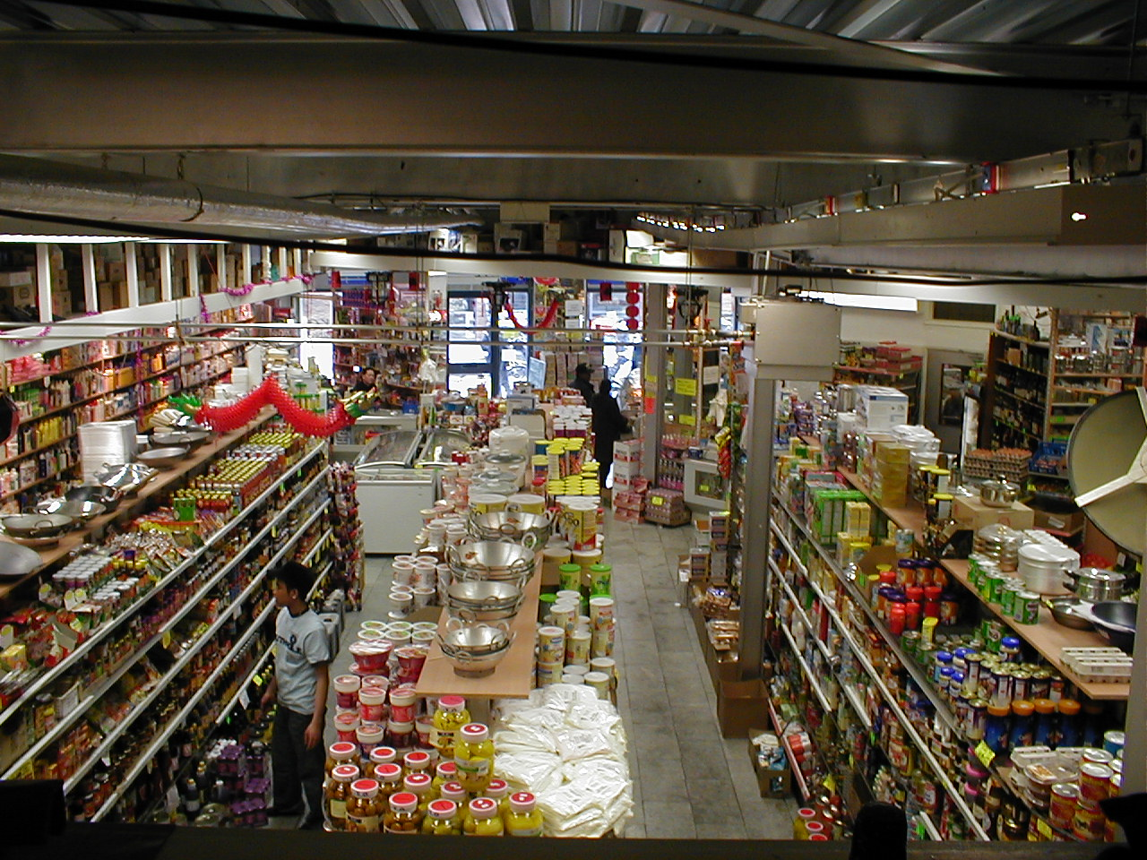 dario shop mall supermarket asian goods isles