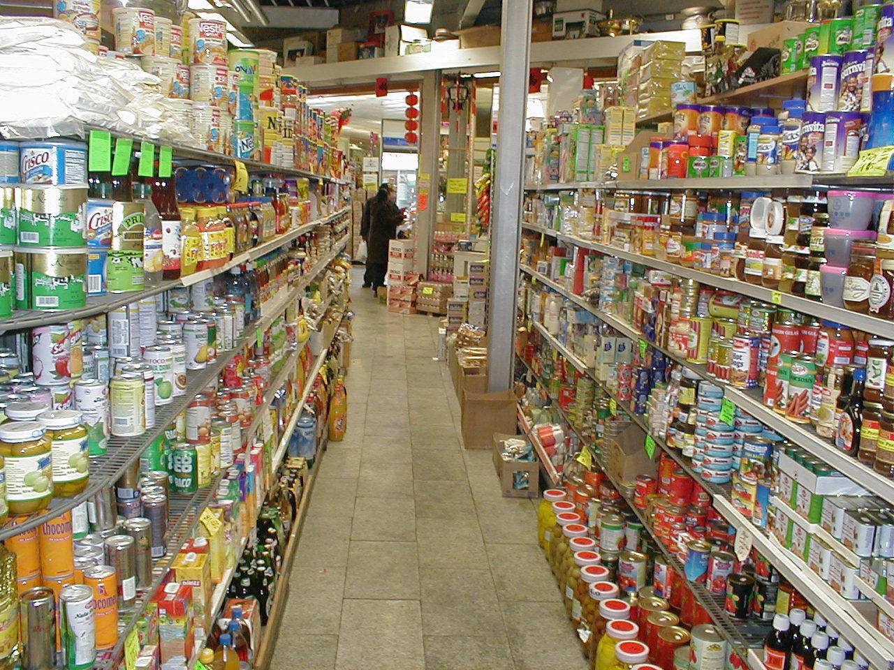 dario store convenient goods product shelves