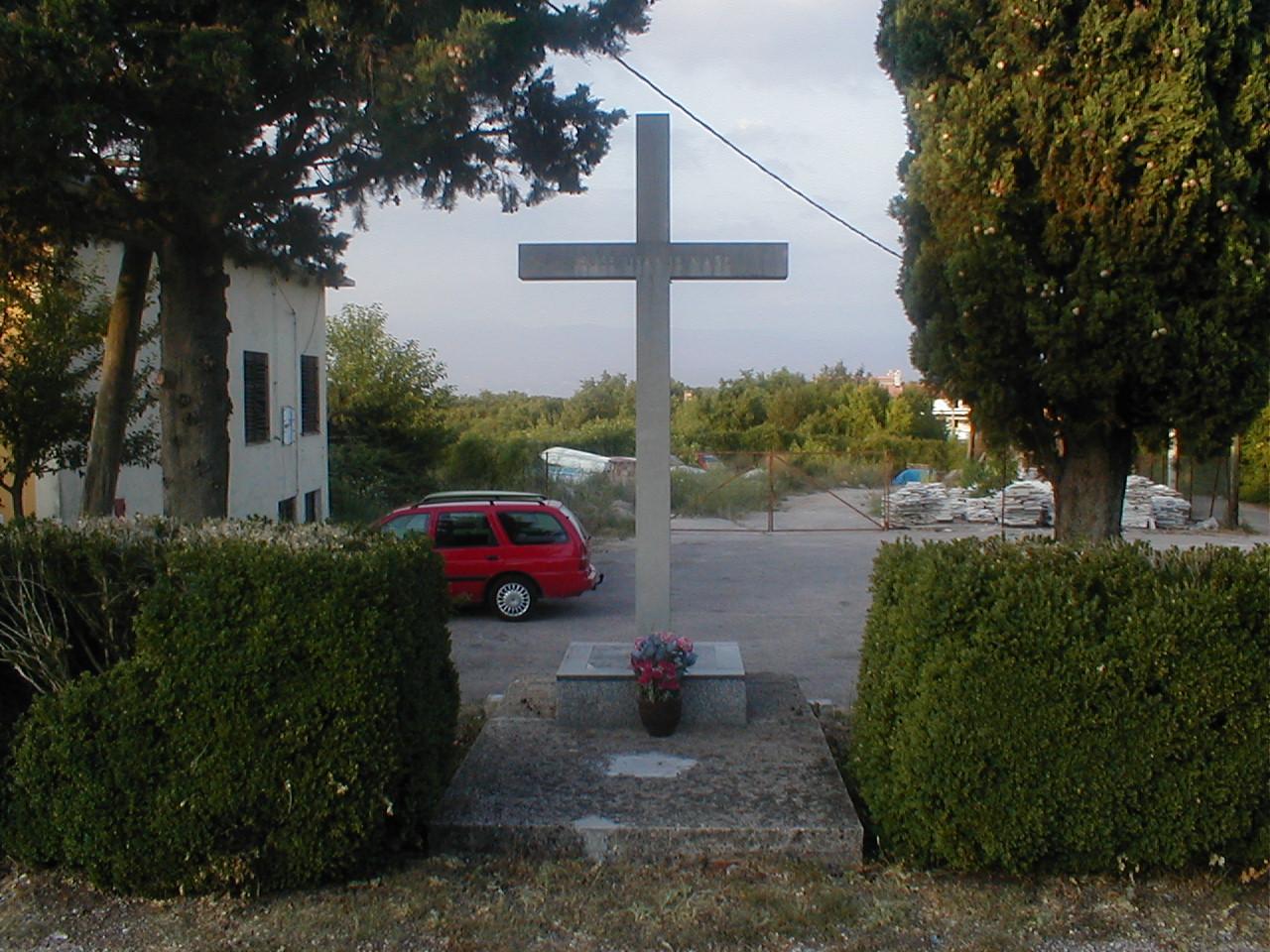 dario cross cemetery grave