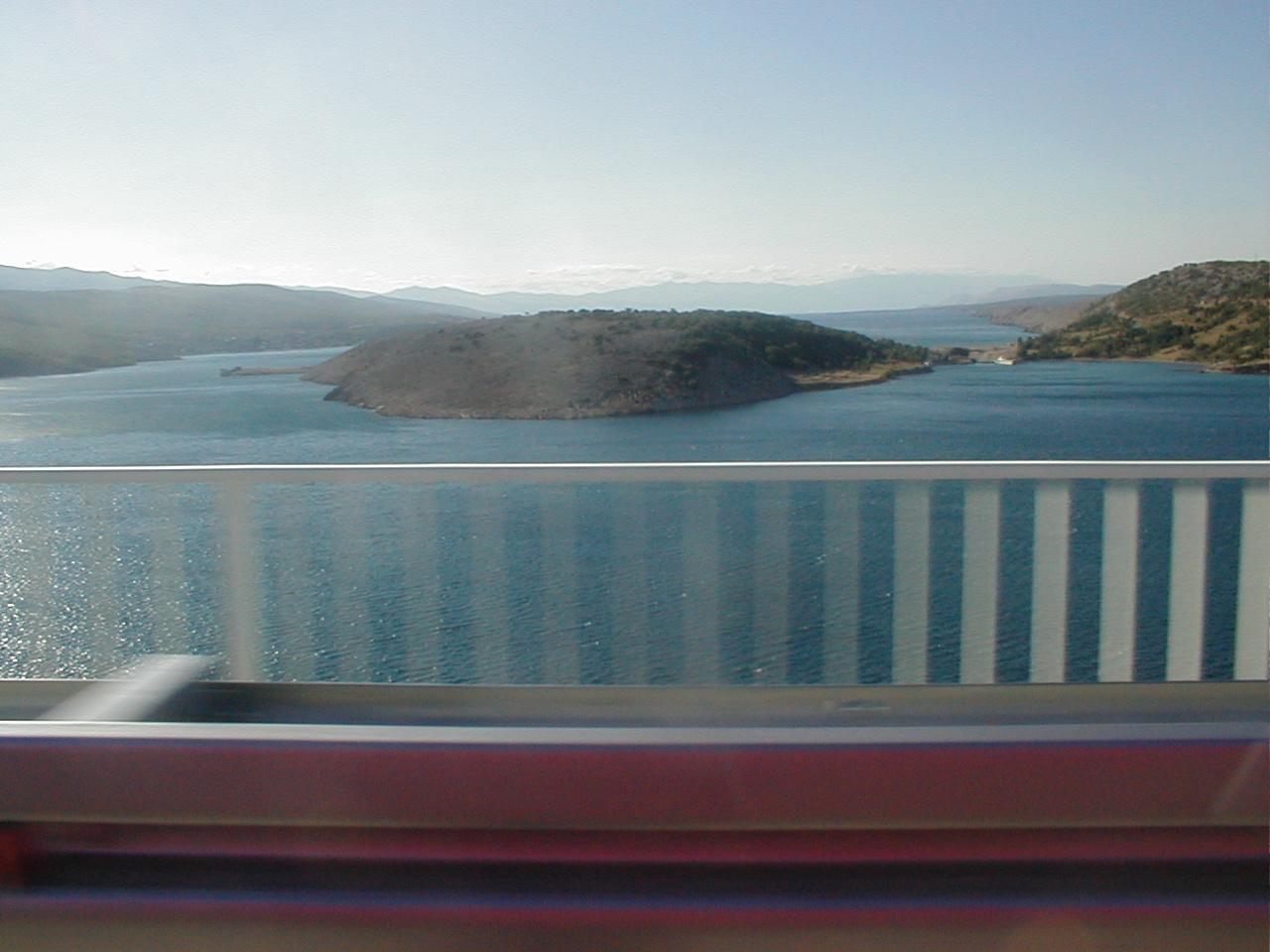speeding train bridge island bay speed rails