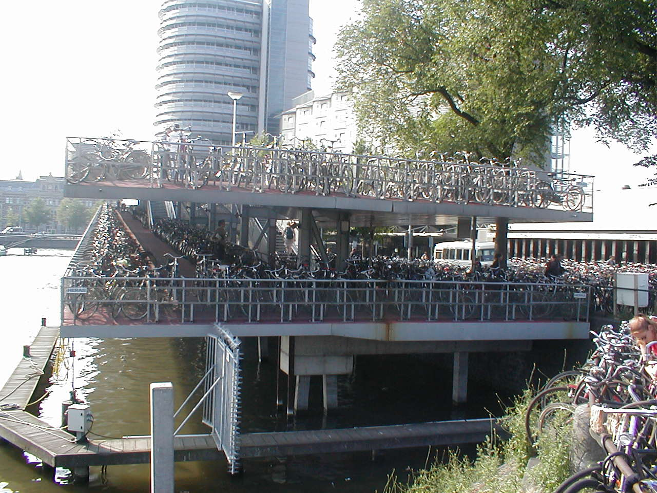 dario bike bicycle parking tower city architecture exterior