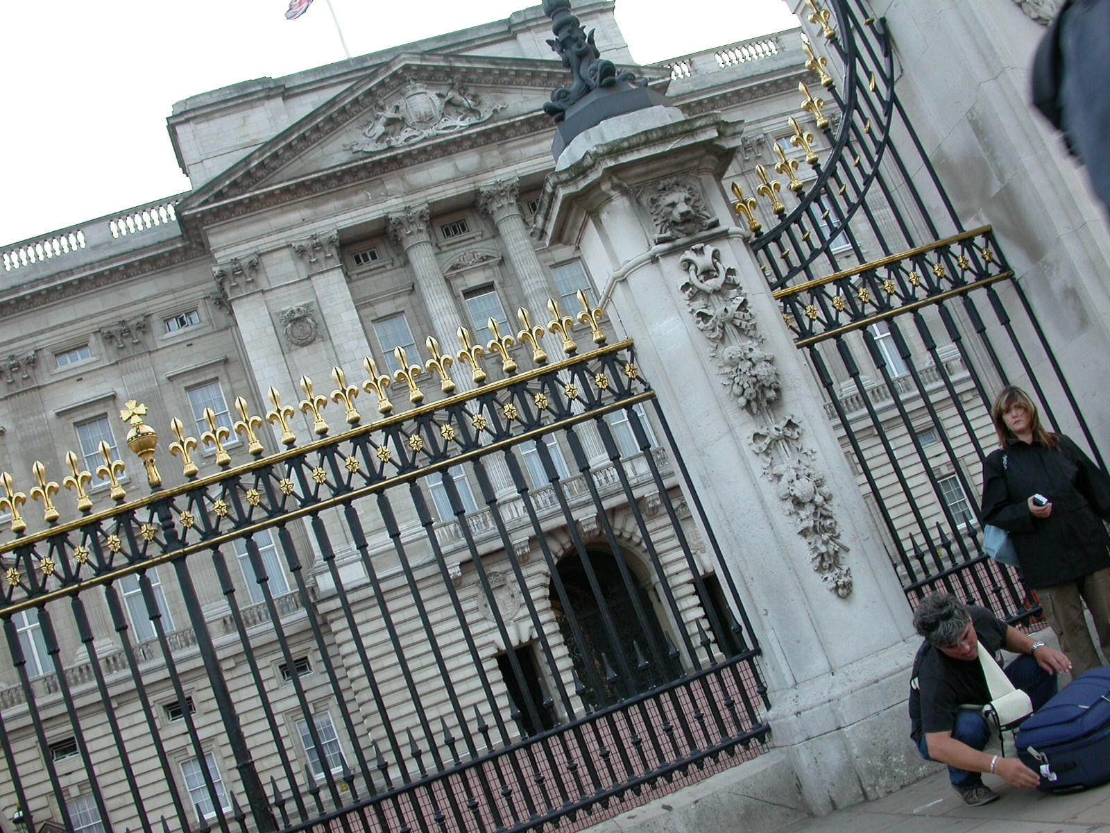 eva palace architecture fence united kingdom england royalty