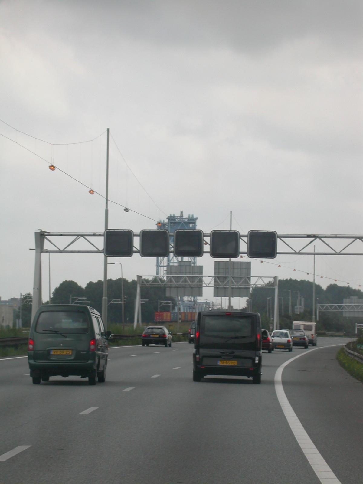 eva car cars highway freeway motorway traffic driving royalty-free