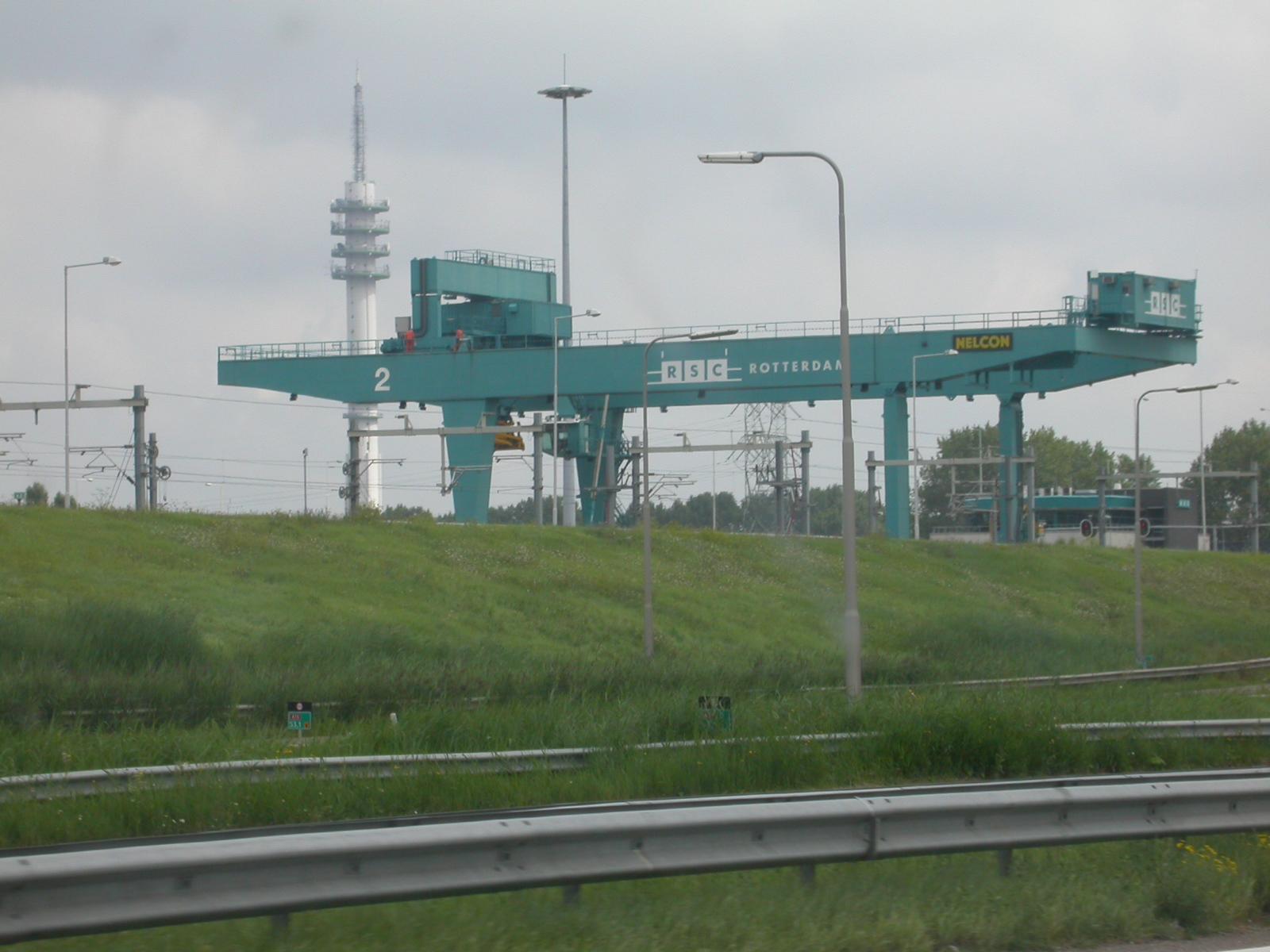 eva container crane equipment harbor RSC Lelystad