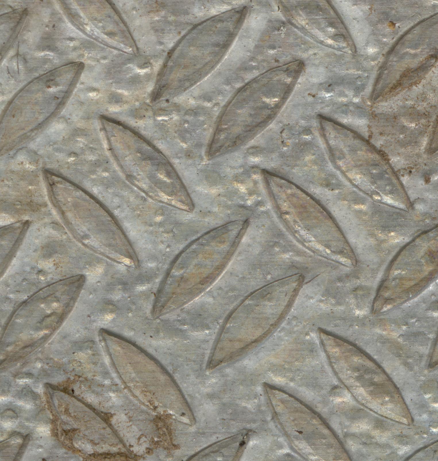 kinkyfriend metal floor slab of gray leafs pattern