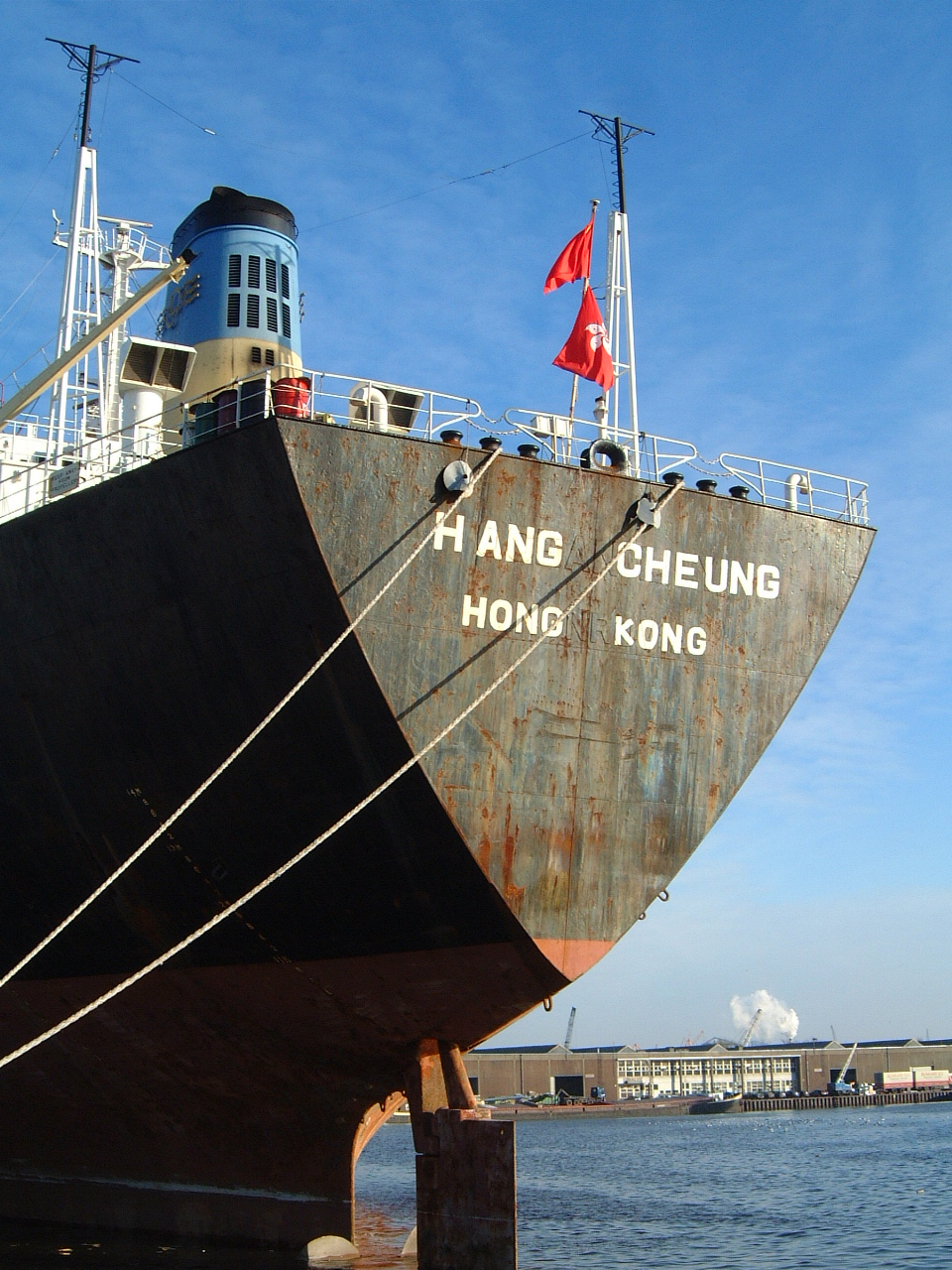 maartent hang cheung hong kong shipping freight ship boat transport stern moored