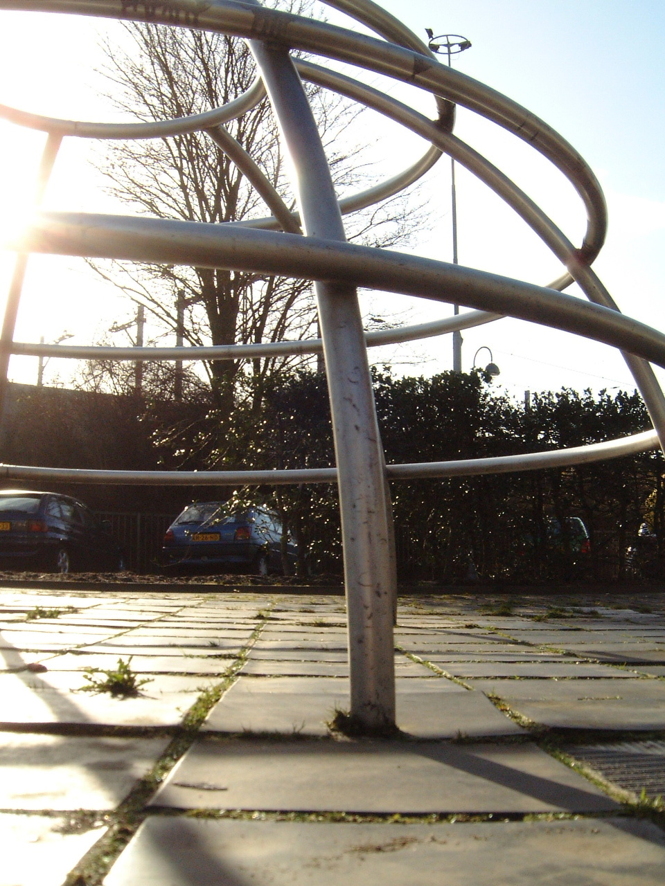 maartent climbing children playground dome sun shining bright