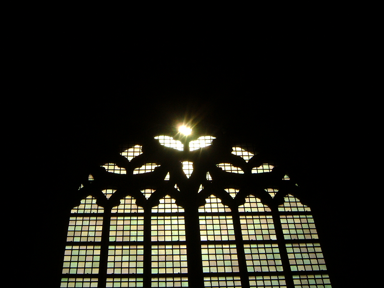 maartent church glass window stained high domed light shining image
