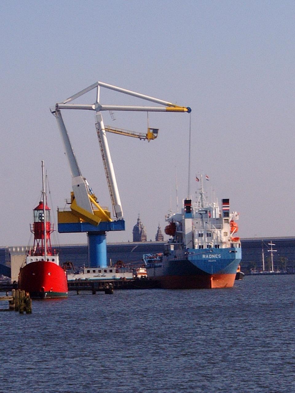 maartent industry dock docks ships cargo cranes loading unloading