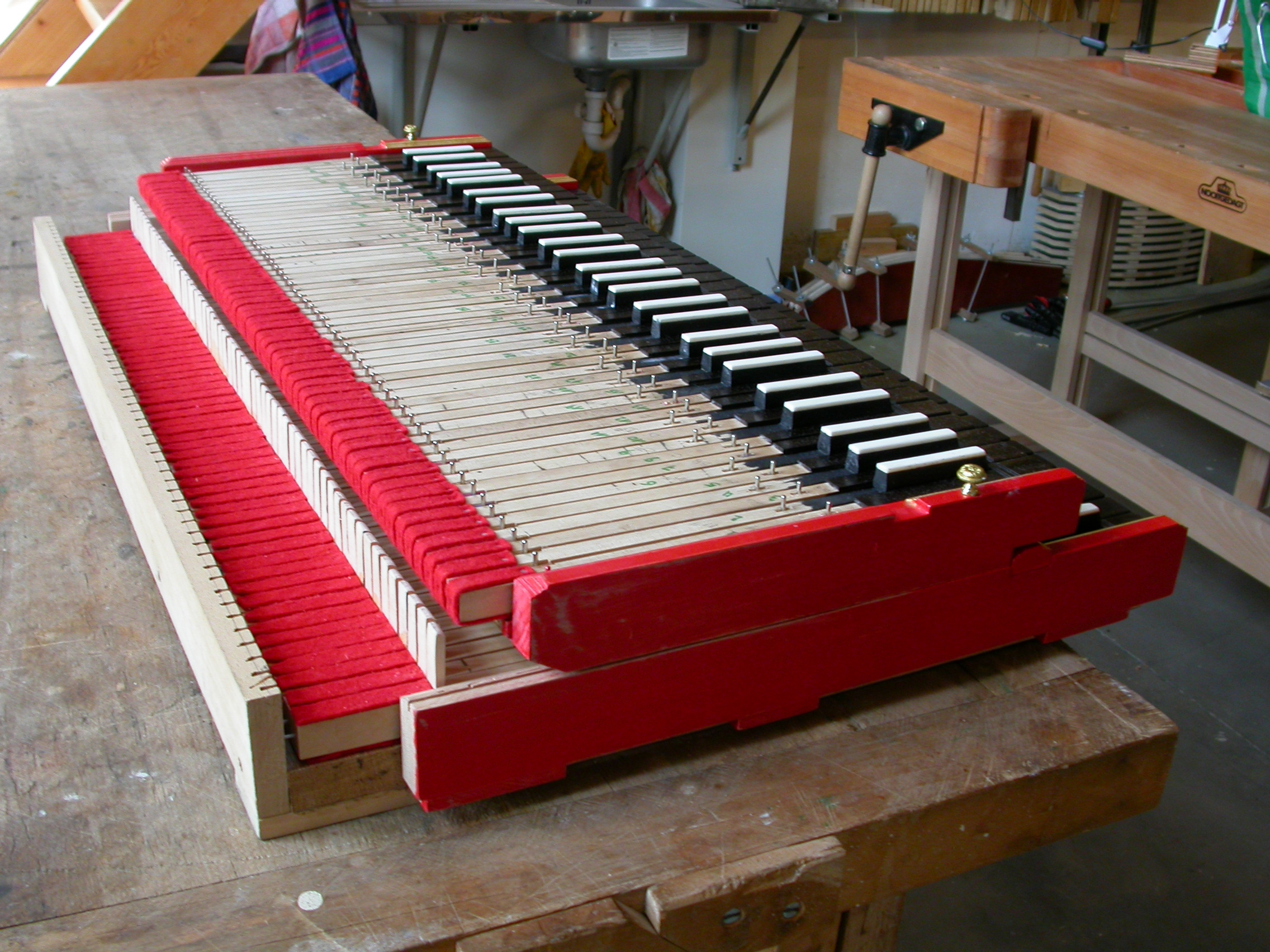 paul piano in the making instrument making creating school under construction keys music
