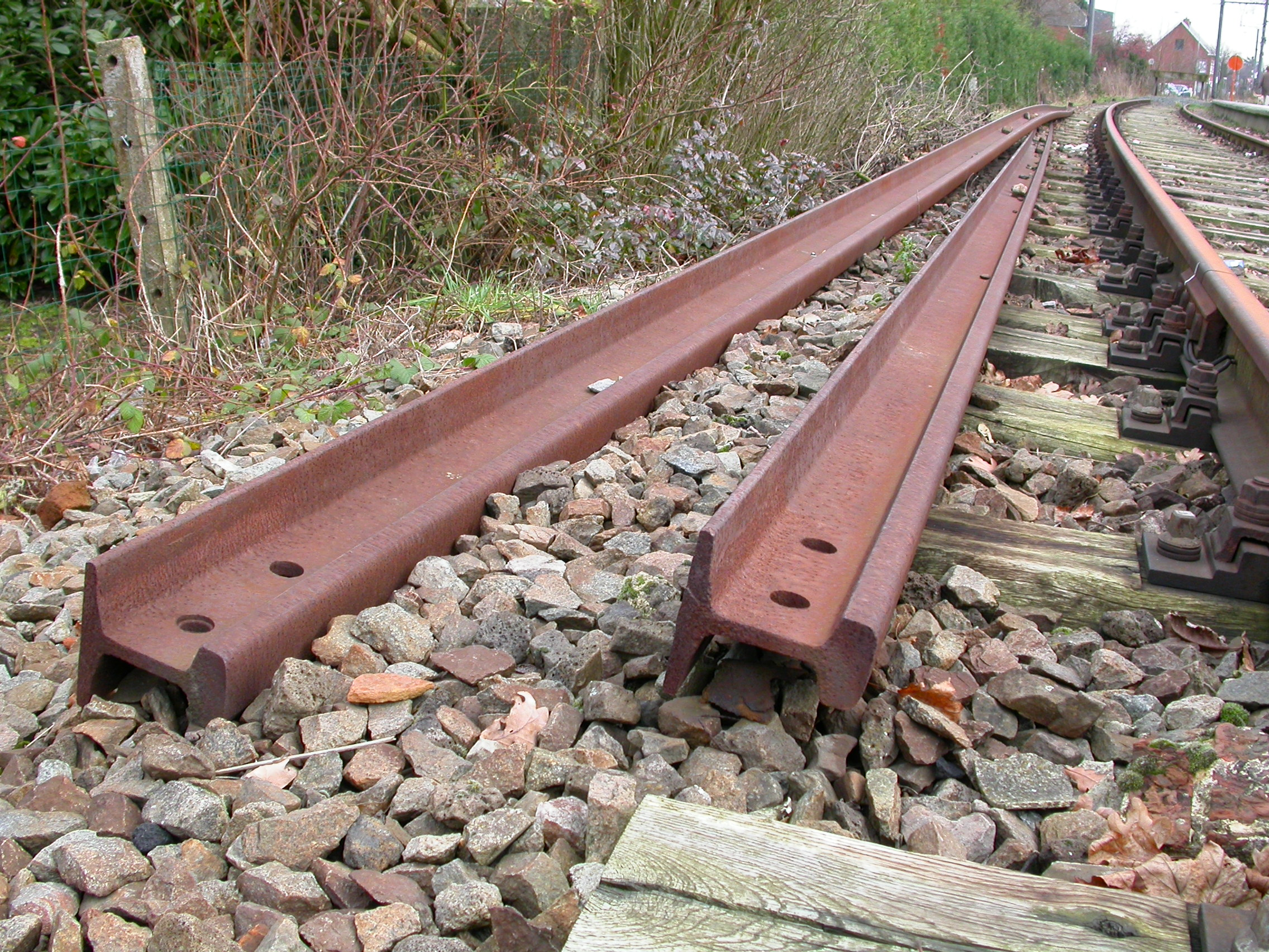 paul rail rails steel metal scrap