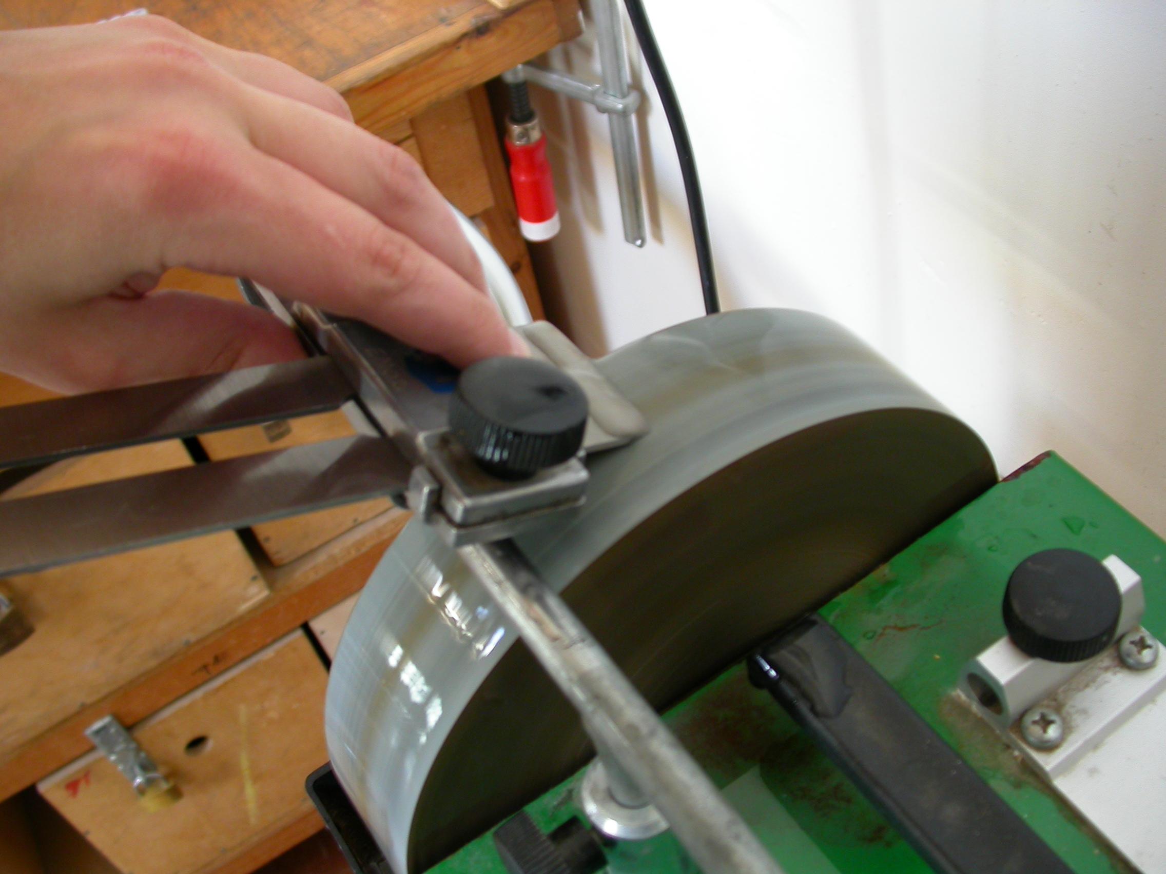 paul sharpening scour sharpen filing polishing tools handiwork