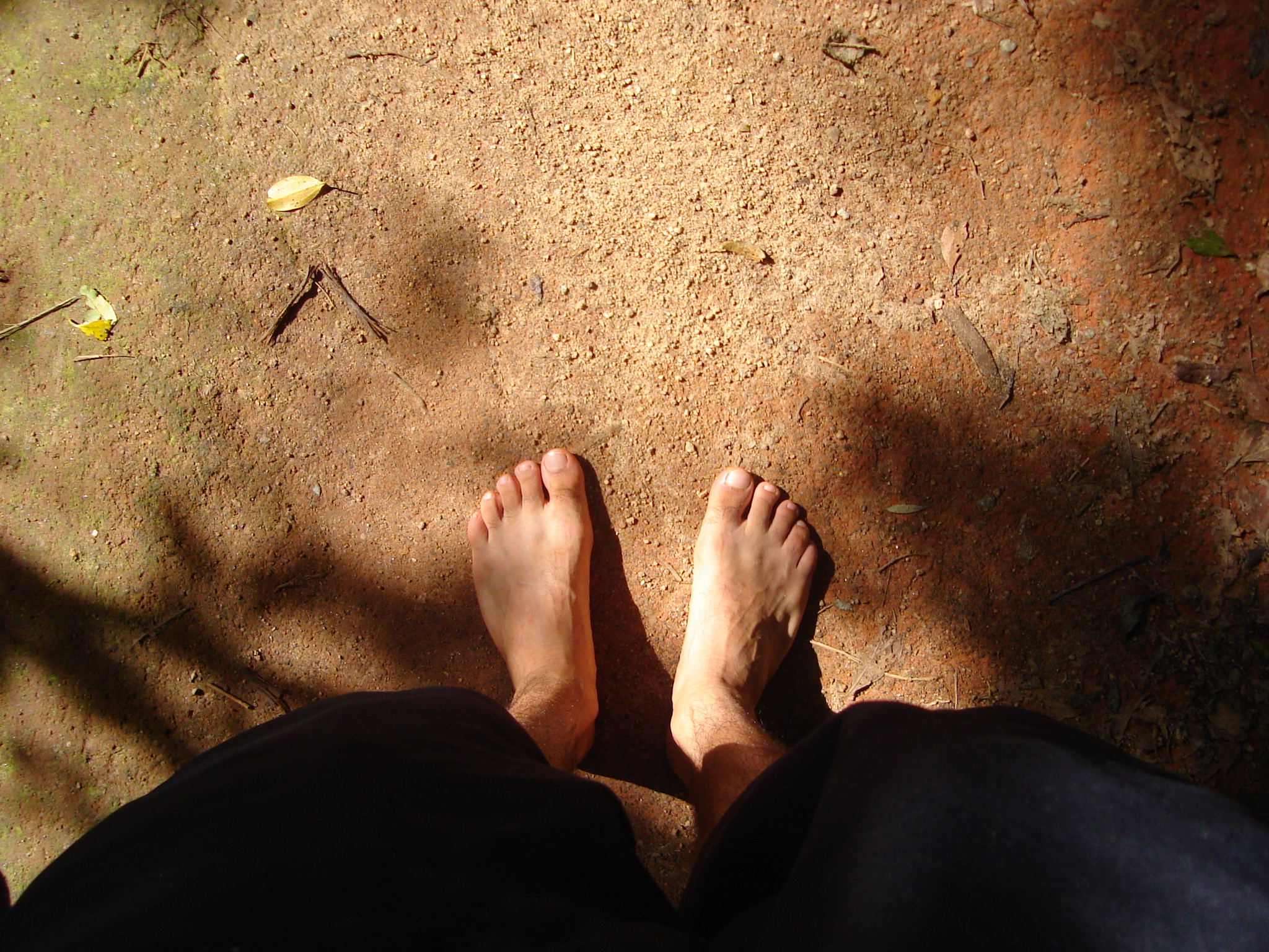 poows nature characters humanparts feet zen ground texture man top