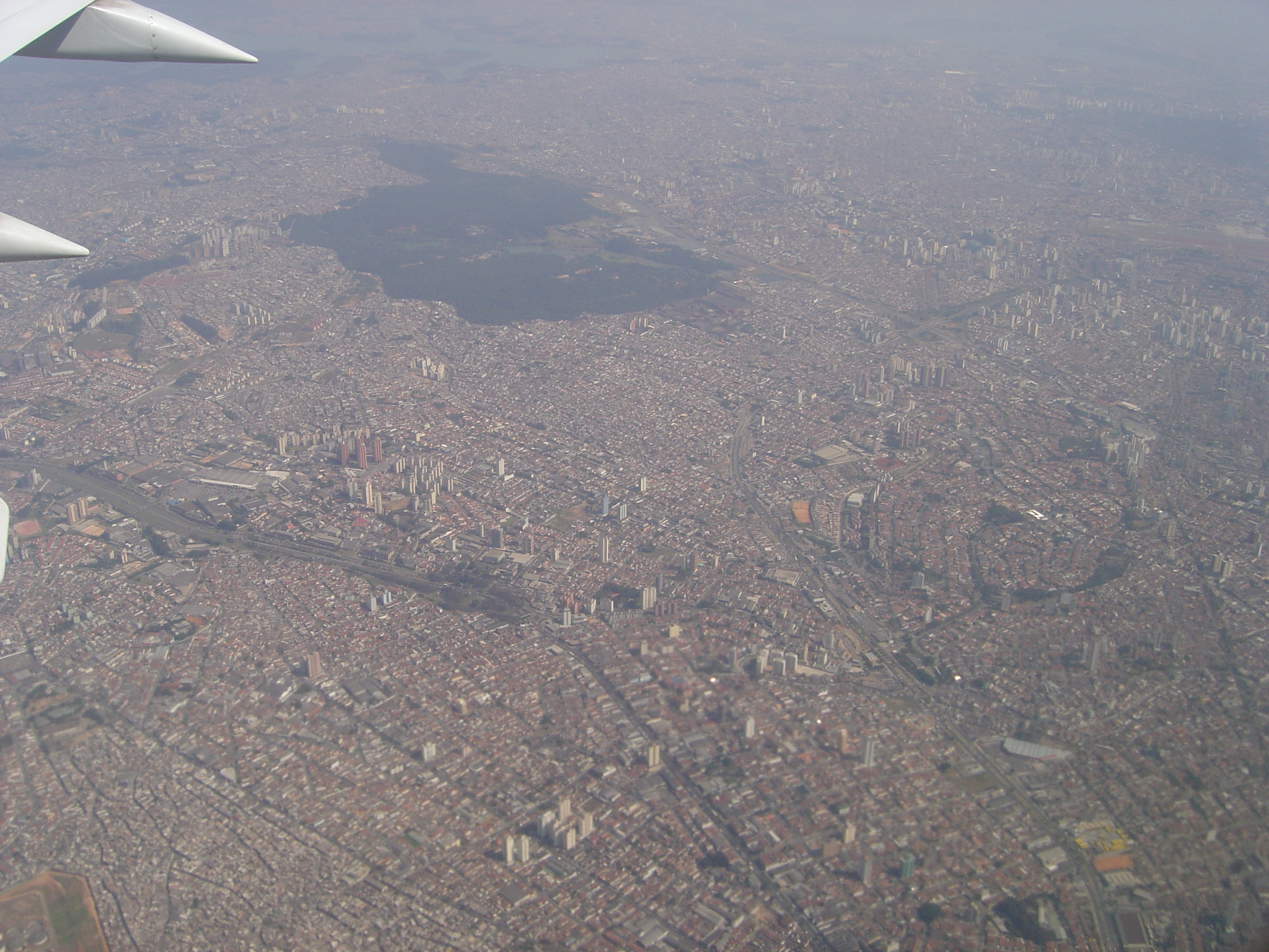 poows city altitude high up skyscrapers view from a plane