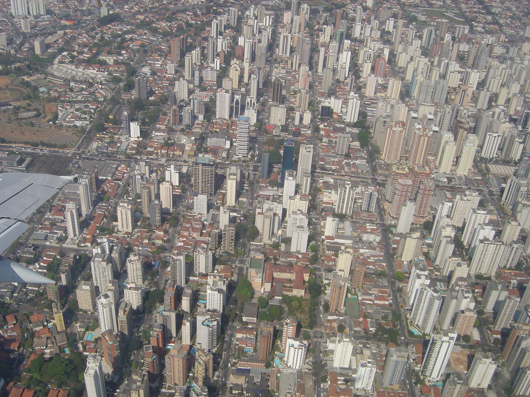 poows city metropolis skyscraper skyscrapers grid aerial view