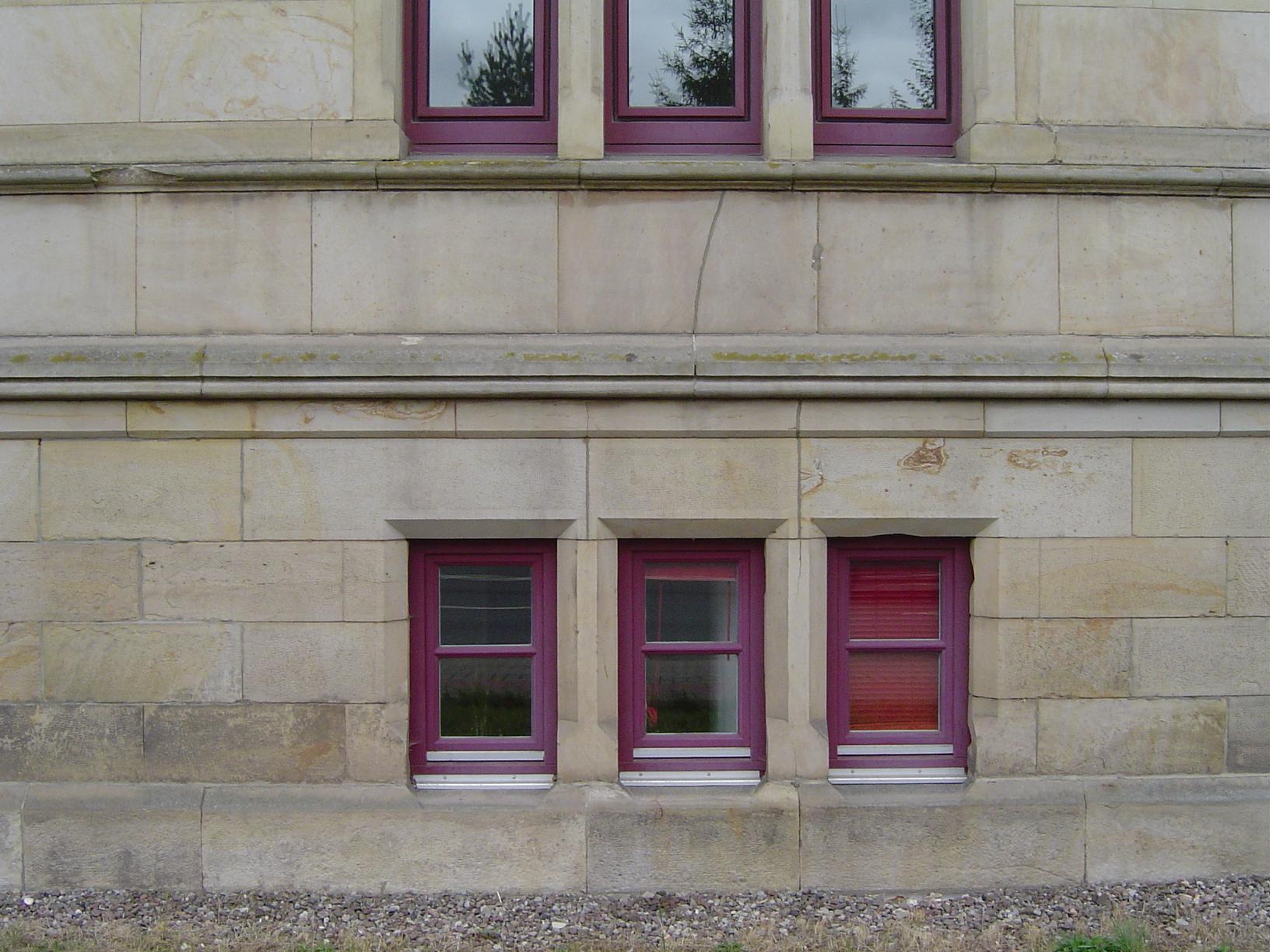 rigoletto facade windows buildin architecture glass
