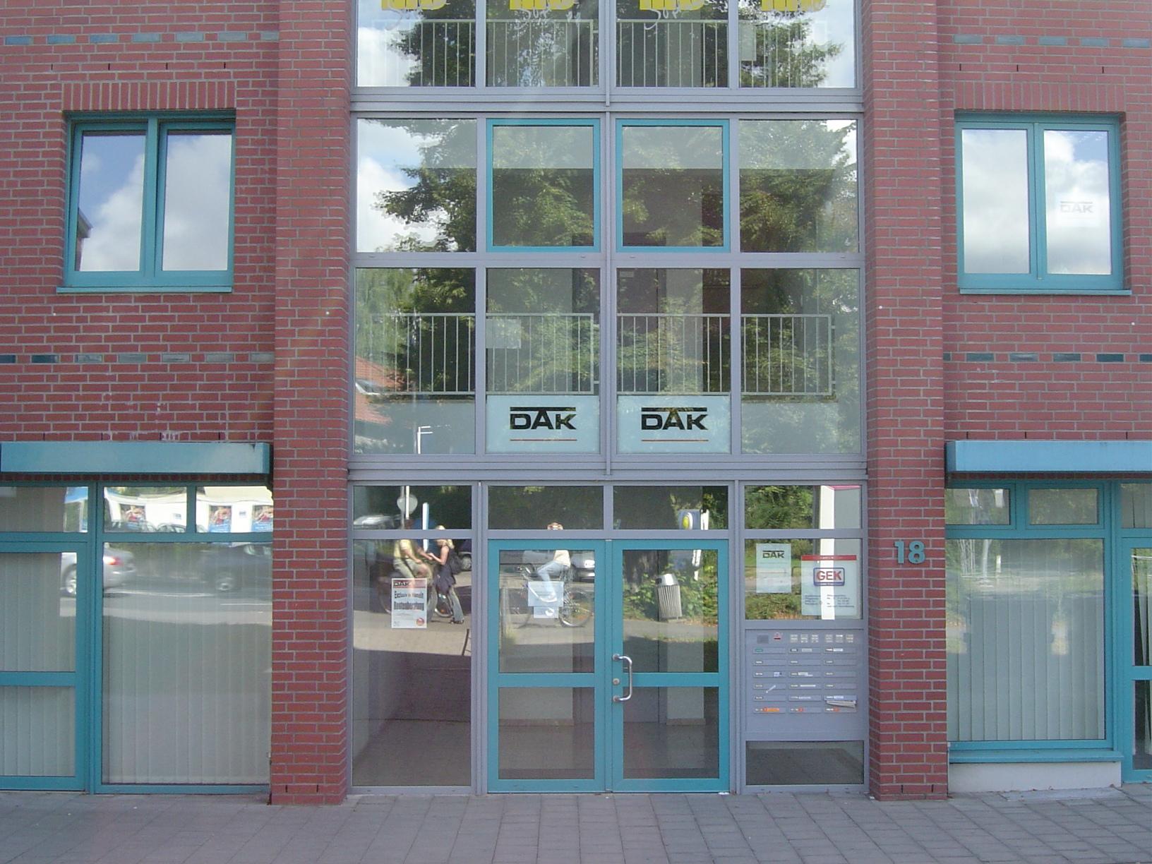 rigoletto store office building door glass doors