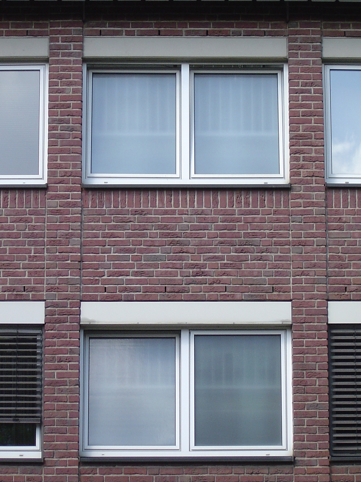 rigoletto house street front brick windows
