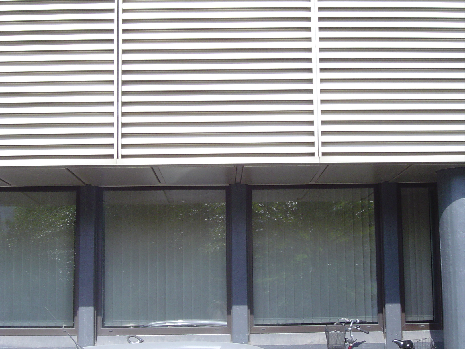 rigoletto wall office building shades windows