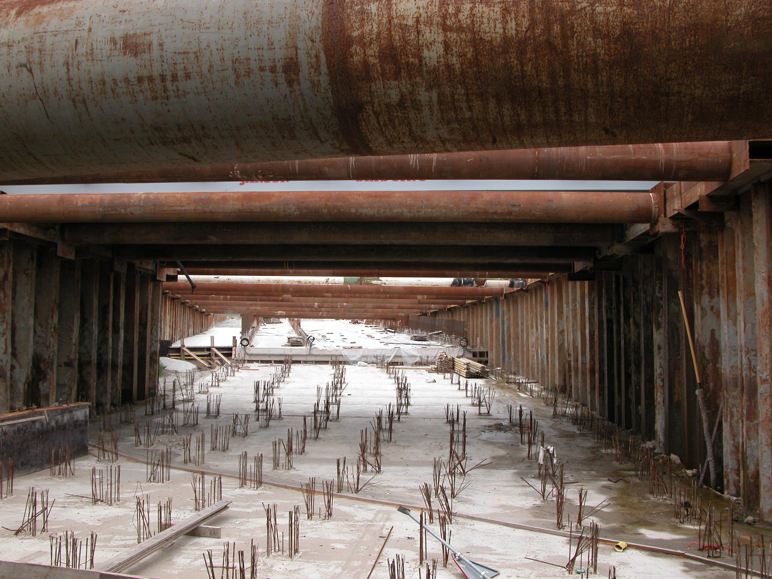 architecture exteriors buildingsite constructionsite construction site tunnel heemskerk concrete royalty